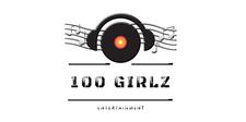 100 GIRLZ ENTERTAINMENT logo