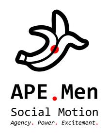 APE . Men Social Motion logo