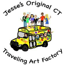 The Traveling Art Factory  logo