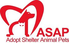 Adopt Shelter Animal Pets (ASAP) logo