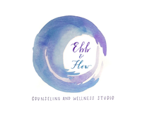 Ebb & Flow Counseling and Wellness Studio logo