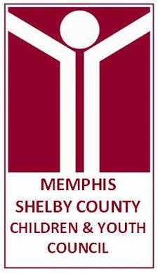 The Memphis/Shelby County Children and Youth Council  logo