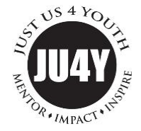 JUST US 4 YOUTH logo