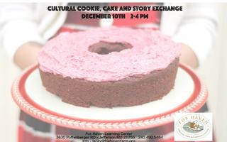 Cultural Cookie Exchange and Story