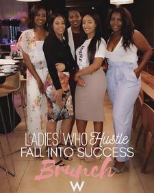 Ladies Who Hustle  logo