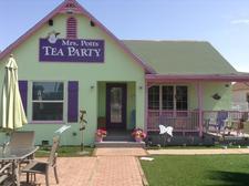 Mrs Potts Tea Party logo