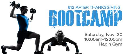 812 After Thanksgiving Bootcamp