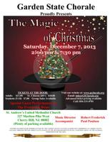 Garden State Chorale's 82nd Annual Christmas Concert