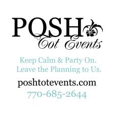 Posh Tot Events logo