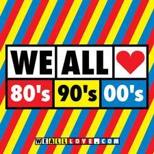 WE ALL LOVE 80's 90's 00's logo