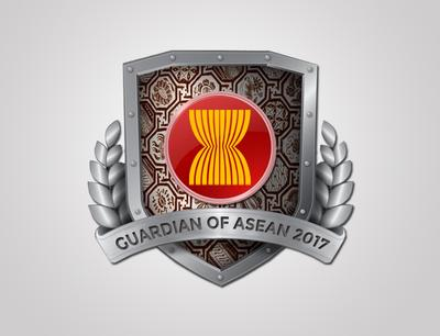 Guardian of ASEAN 2017 logo