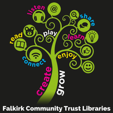Falkirk Community Trust Libraries logo