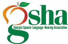 GSHA (Georgia Speech-Language Hearing Association) logo