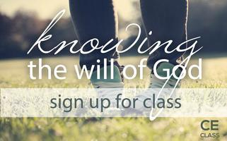 Knowing the Will of God - Christian Education Class