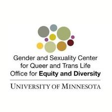 Gender and Sexuality Center for Queer and Trans Life logo
