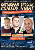 Rotterdam English Comedy Nights! - October Edition