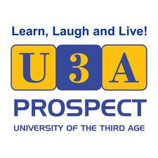 Events U3A Prospect  - University of the Third Age logo