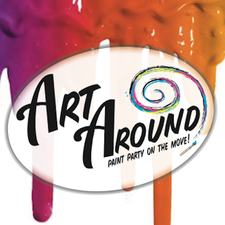 Art Around Paint Party logo