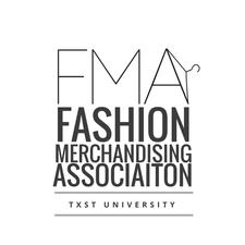 TXST University Fashion Merchandising Association  logo