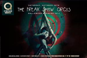 Freakshow Halloween at Highline Ballroom