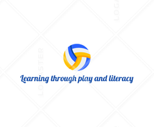 Learning through play and literacy  logo