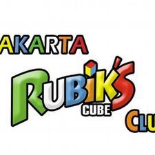 Jakarta Rubik's Cube Club logo