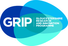 Gloucestershire Research and Innovation Programme (GRIP) logo