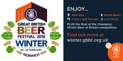 Great British Beer Festival Winter 2018 Tickets, Wed, 21 Feb 2018 ...