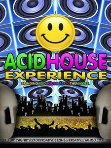 The Acid House Experience presents 30 years of Acid House & Rave Culture UK logo