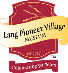 Lang Pioneer Village Museum logo