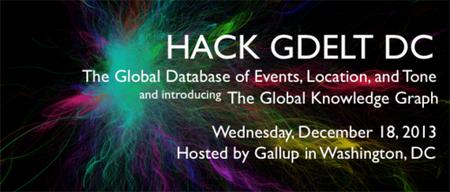 GDELT DC Hackathon
