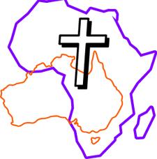 AfriAus Let's Worship logo