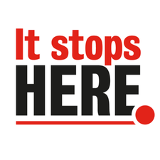 It Stops Here  logo