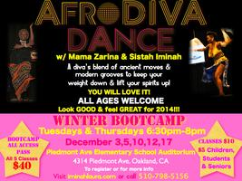 AfroDIVA DANCE Winter BOOTCAMP!