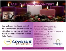 ADVENT FAMILY CONCERT - CANCELLED
