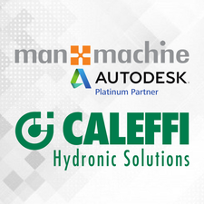 Man and Machine & Caleffi Hydronic Solutions logo