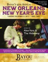 Bayou's 4th Annual New Orleans New Year's Bash