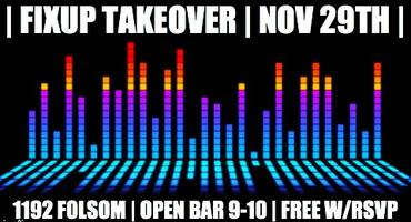 OPEN BAR | BLACK FRIDAY | FIXUP TAKEOVER | ARCMATIX |...
