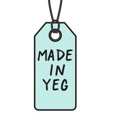 Katie Pearse & Chantel Jade, #MADEINYEG logo