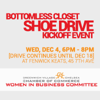 Holiday Shoe Drive - Kick Off Night!