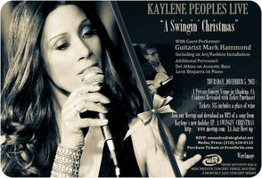 A Swingin' Christmas with Kaylene Peoples & Guitarist Mark...