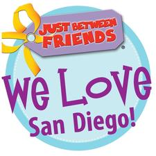 Just Between Friends San Diego logo