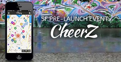CheerZ app SF Pre-Launch