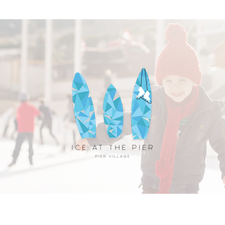 ICE AT THE PIER - Ice Skating and Winter Fun at Pier Village logo