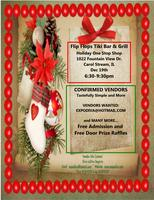 Flip Flops Holiday Sip N Shop ~ December 19th ~ Vendor Event