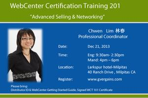 Webcenter certification 201- English