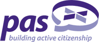 PAS (Planning Aid Scotland) logo