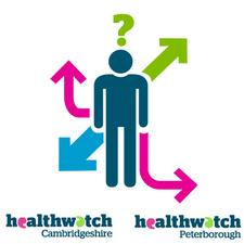 Healthwatch Cambridgeshire and Peterborough logo