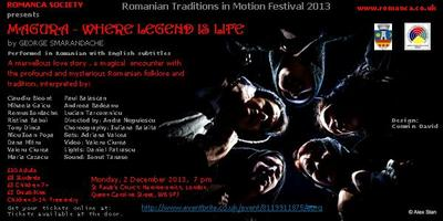 Romanian Traditions  in Motion Festival, London,  2...