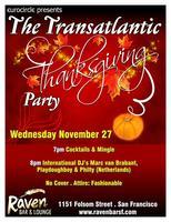 The Pre Thanksgiving Transatlantic Party